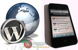 Wordpress Iphone Mobile CondifesaRavenna